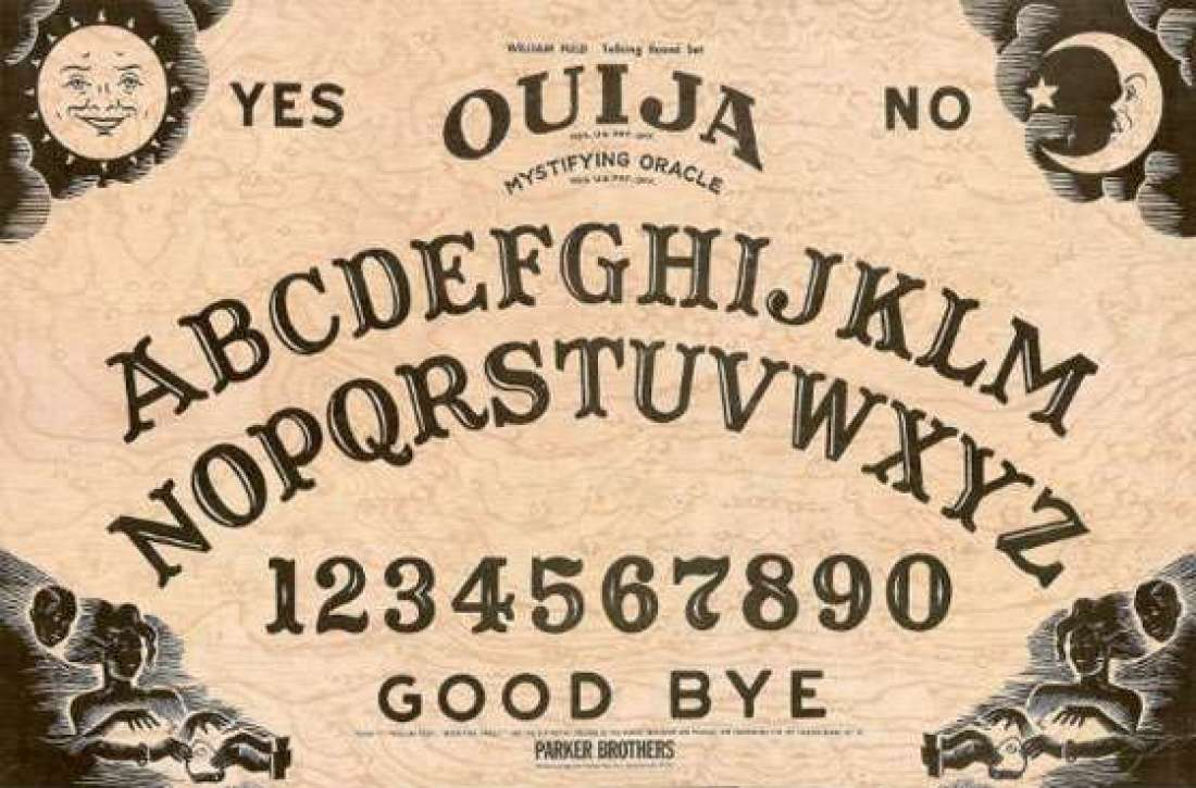 Bringing a Ouija board into an already scary basement has crazy written all over it.