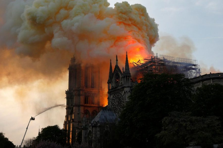 Watching History Burn: Notre-Dame de Paris
