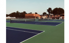 The EHS Girls Tennis Team gets NEW courts!