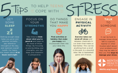 Some coping tips that can help handle stress.